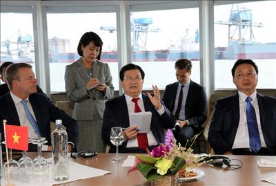 Việt Nam mong muốn Hà Lan chia sẻ kinh nghiệm quản lý cảng biển