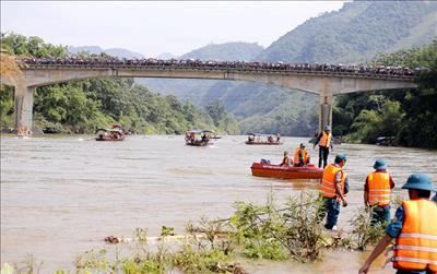 Lào Cai: Diễn tập phòng chống sự cố mất an toàn đập, hồ chứa