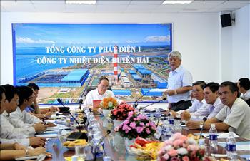 Ông Nguyễn Thiện Nhân: Trung tâm Điện lực Duyên Hải phải bảo vệ tốt môi trường