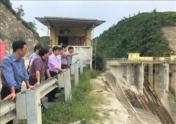 Kiểm tra công tác an toàn hồ đập tại Nhà máy thủy điện Hố Hô