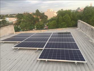 Điện mặt trời áp mái - giải pháp hiệu quả giảm áp lực về điện