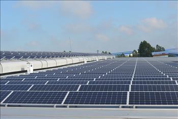 Ký hợp đồng tín dụng dự án điện mặt trời Sao Mai