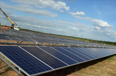 Phú Yên khởi công xây dựng hai nhà máy điện mặt trời