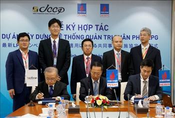 PV GAS ký hợp tác xây dựng hệ thống quản trị phân phối LPG