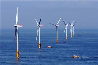 EVN sẵn sàng phối hợp để phát triển dự án điện gió Kê Gà