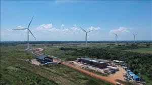 Nhà máy điện gió với hệ thống pin lưu trữ tiên tiến tại Thái Lan