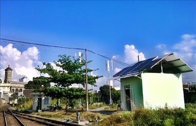 Ga Nha Trang sử dụng điện phát từ năng lượng mặt trời và sức gió