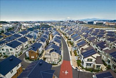 Không gian sống gắn kết và bền vững trong mô hình đô thị thông minh ở Nhật Bản