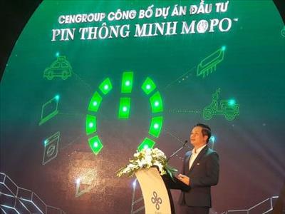 CenGroup công bố dự án đầu tư pin sử dụng năng lượng sạch Mopo