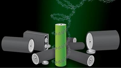 Pin hữu cơ không chứa kim loại, dễ phân hủy và tái chế
