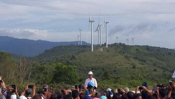 Indonesia khánh thành trang trại điện gió lớn nhất khu vực