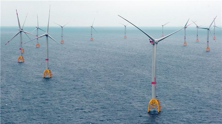 Khai trương trang trại điện gió ngoài khơi đầu tiên ở biển Baltic