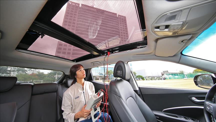 Xe Hyundai và Kia sẽ dùng năng lượng mặt trời từ 2019