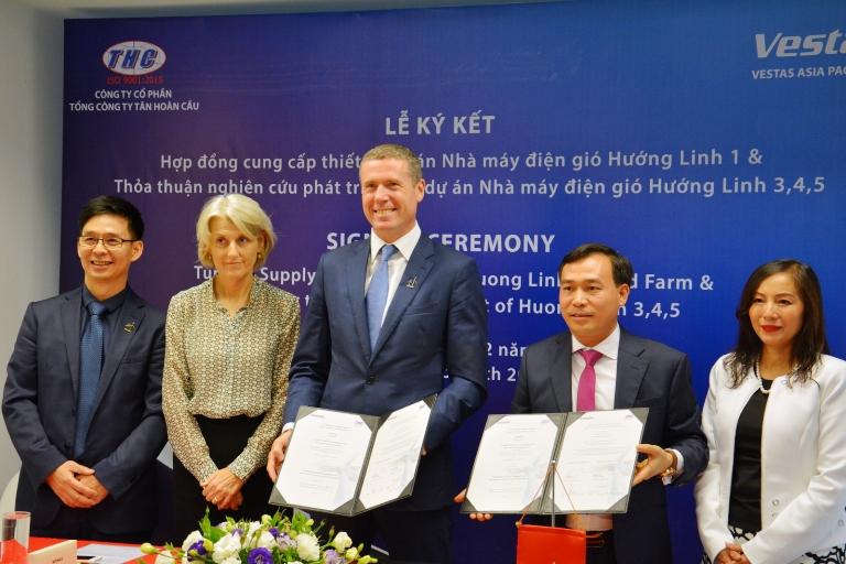 Hơn 22 triệu euro đầu tư xây dựng trang trại điện gió tại Quảng Trị