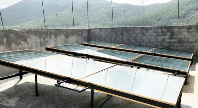 Hà Tĩnh sử dụng năng lượng mặt trời sản xuất nước mắm